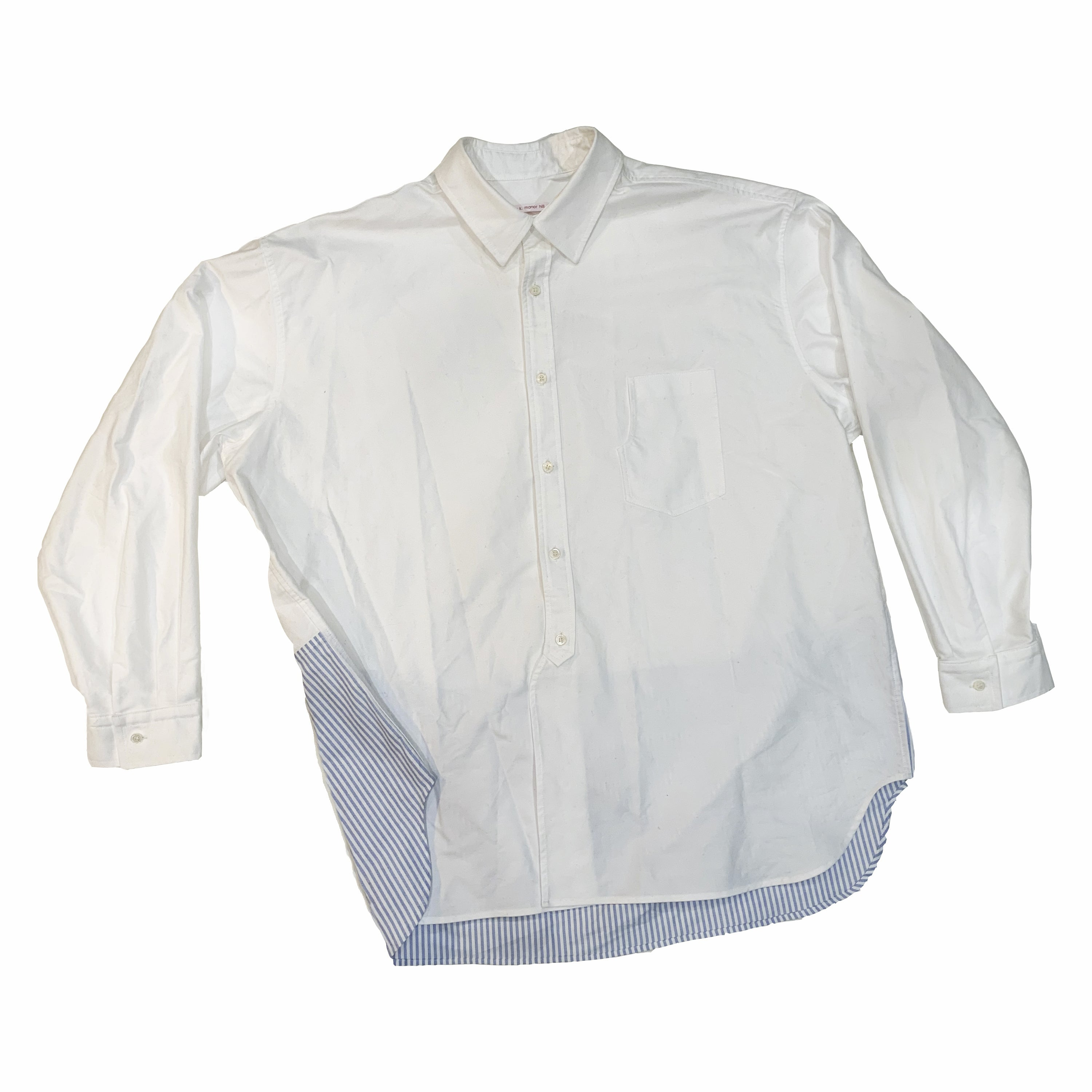 Artisan Shirt - White Cotton Oxford