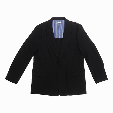 Julian Blazer - Black Puckered