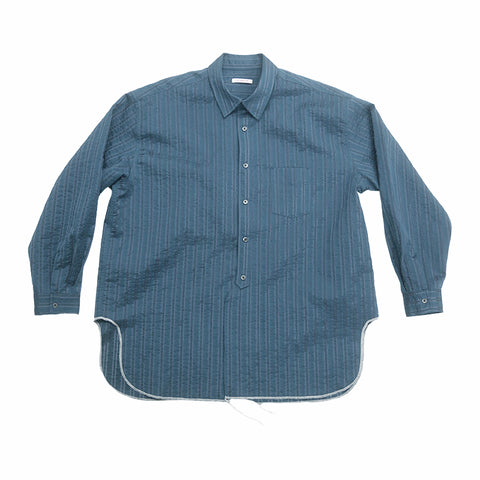 Langston Shirt - Blue Translucent Stripe
