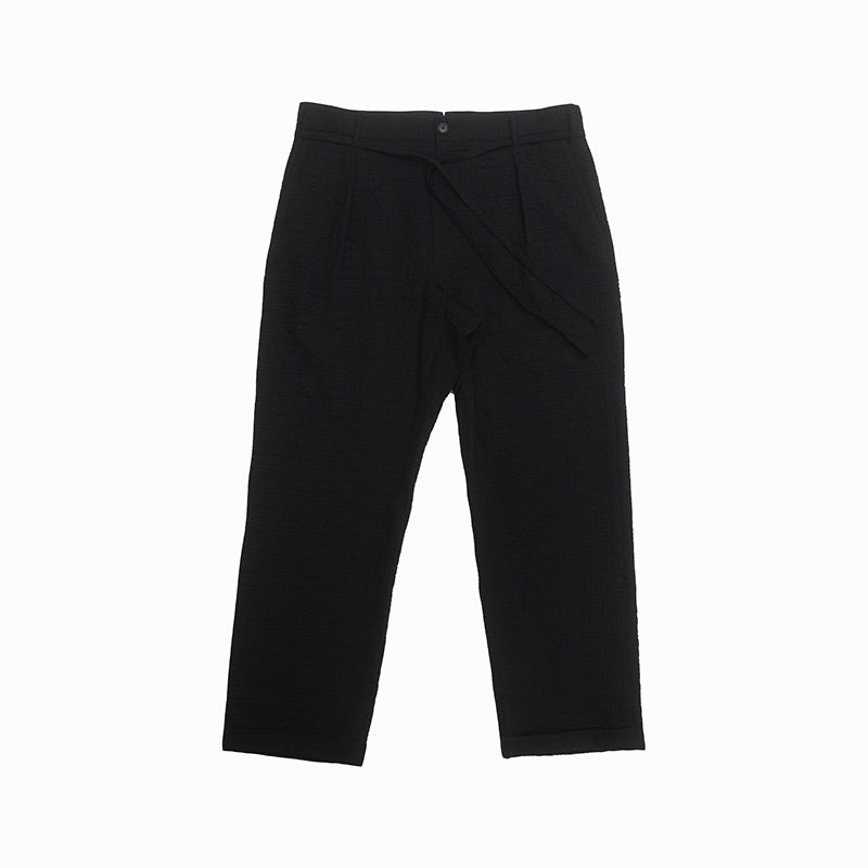 Lansky Pant - Black Puckered