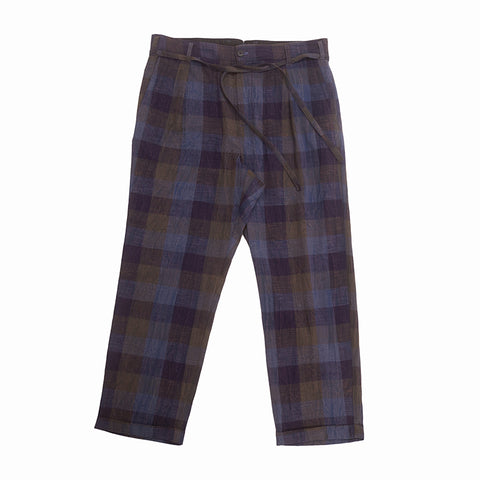 Lansky Pant - Blue & Purple Plaid