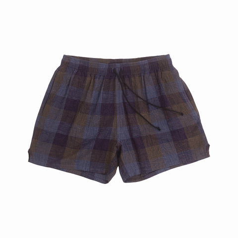 MT Short - Blue & Purple Plaid
