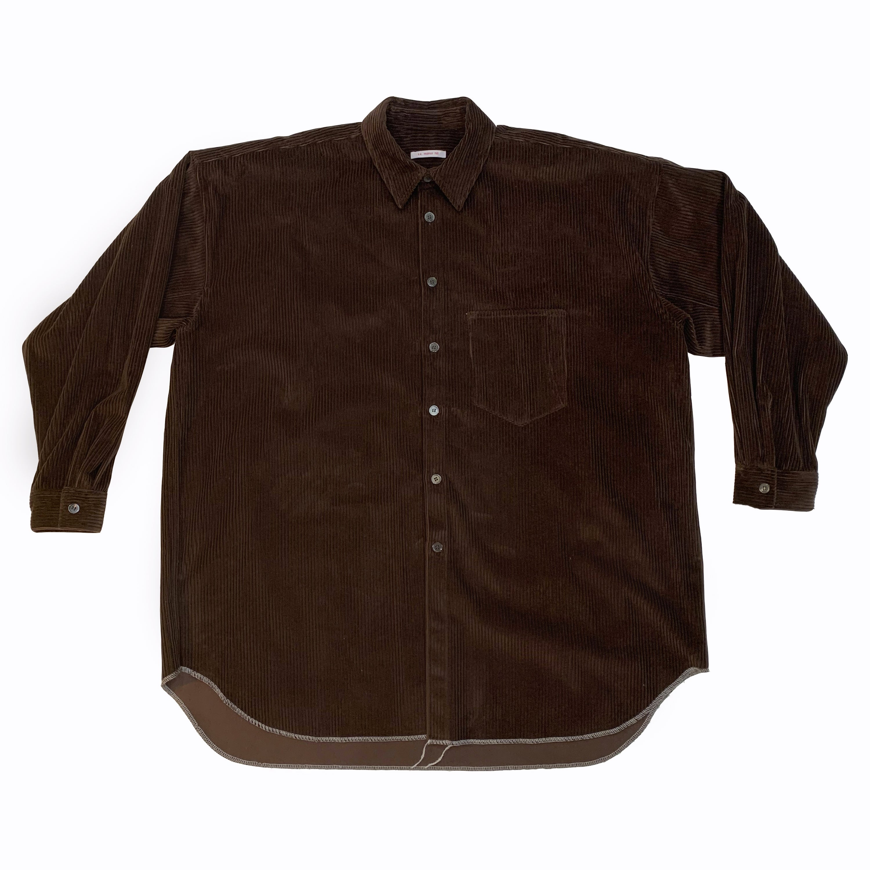 Ox Shirt - Brown Corduroy