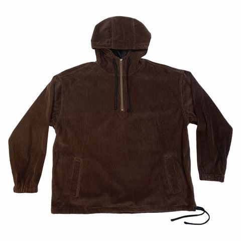 Pod Pullover Jacket - Brown Corduroy