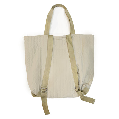 Tote Pack - Tan Recycled Nylon