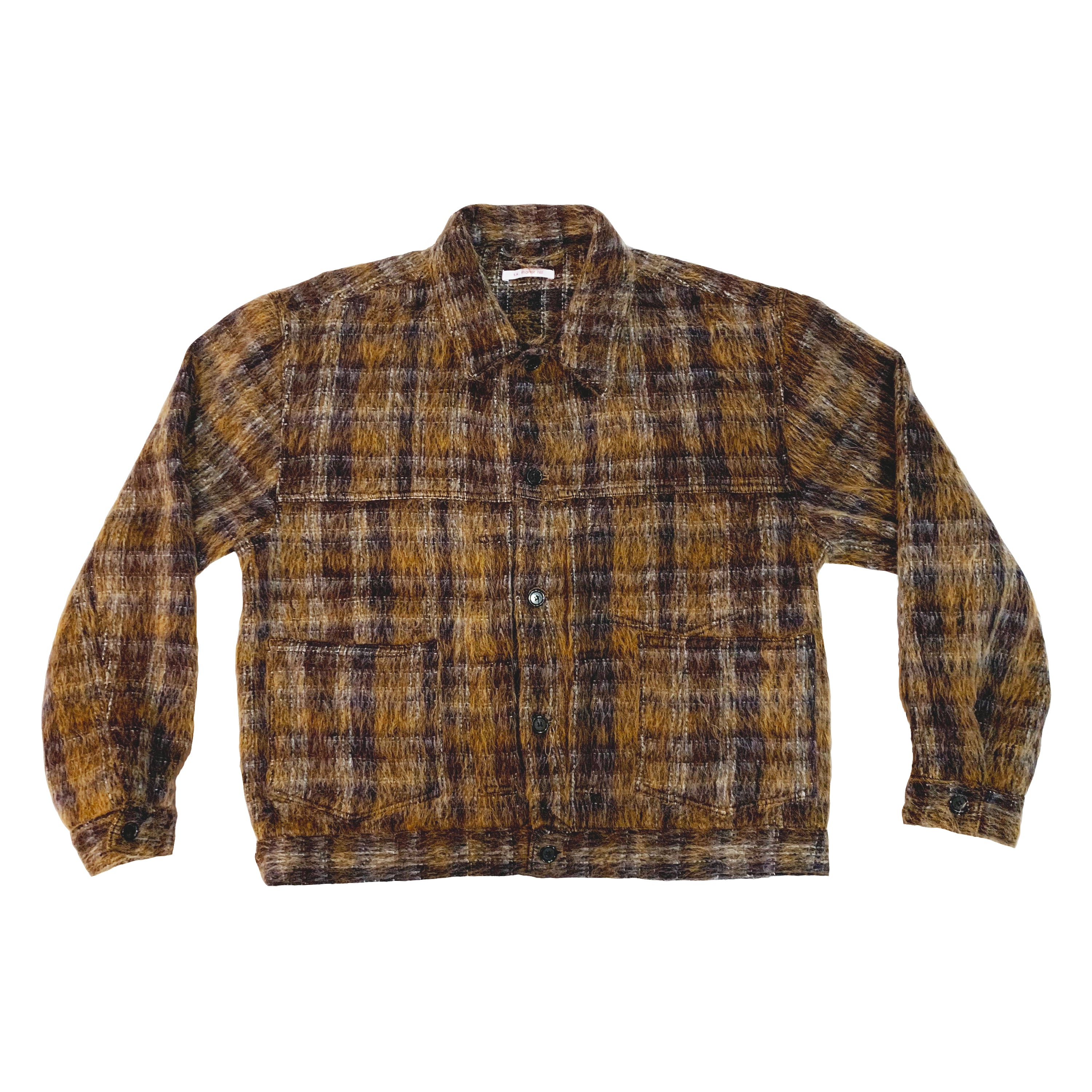 Type 100 Jacket - Mohair Plaid