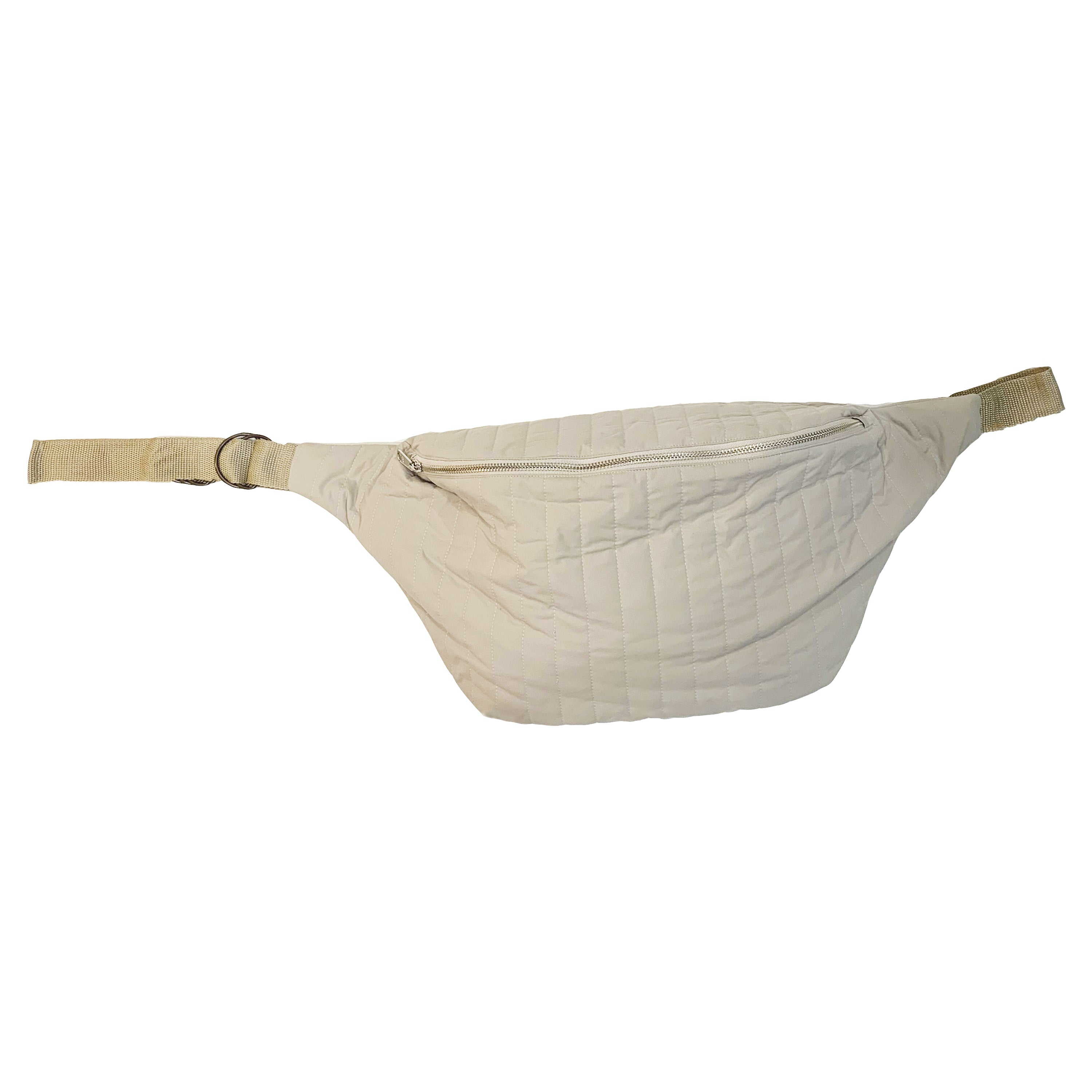 XL Fanny Pack - Tan Recycled Nylon