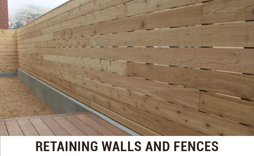 Retaining Walls and Fences
