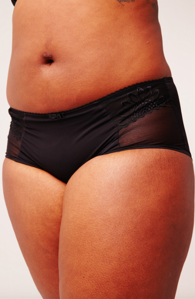 Elomi Black Etta Brief
