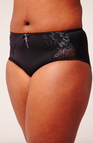 Elomi Black Amelia Brief