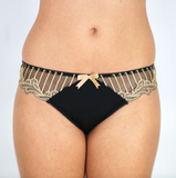 Charnos Black & Gold Sienna Brief