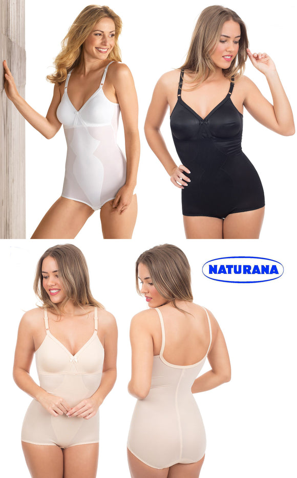 Ladies Smooth Moulded Corselette by Naturana 3030