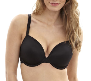 Black 3371 Panache Porcelain Moulded Plunge Bra