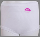 3 Pairs Cotton Eyelet Cuff Leg Brief