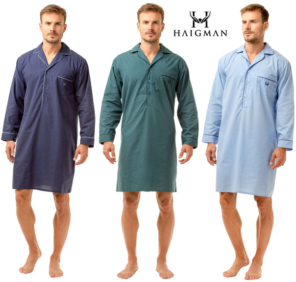 Men's Poly Cotton Nightshirts by Haigman