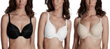Ladies T-Shirt Bras Underwired with Detachable Straps by Beauforme