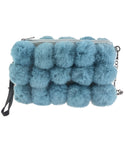 Fluffy Pompoms Fur Bag Perfect Gift