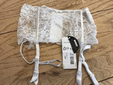 Valisere Lingerie Wide Stretch Lace Suspender Belt Small