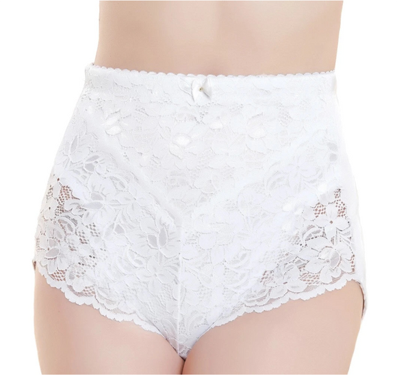 Ladies Medium Control Briefs Lace Front Support Wear Pull U Ins