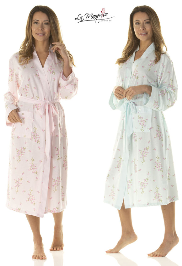 Primrose In Bloom Gown Robe Wrap By La Marquise