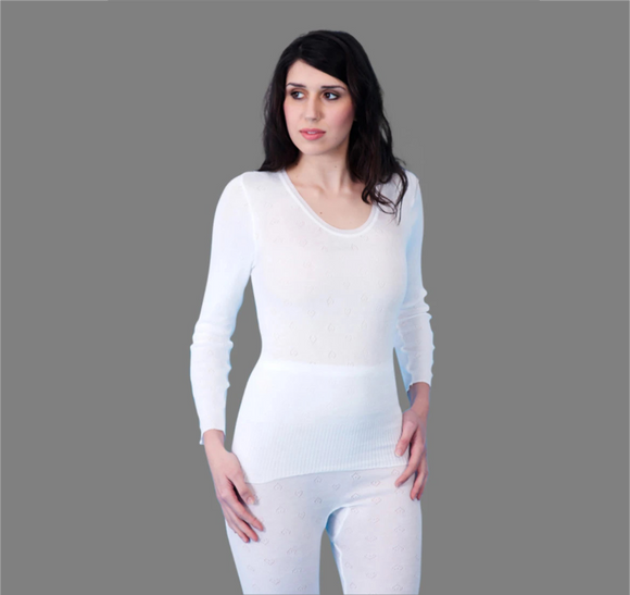 Long Sleeve Thermal Vest by Snowdrop