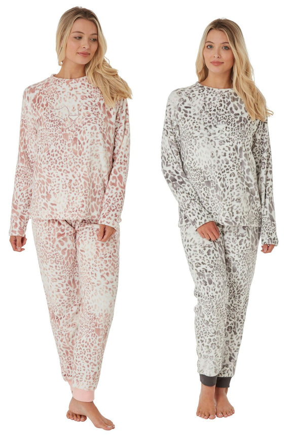 Luxury Supersoft Fleece Animal Print Pyjama