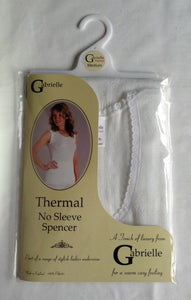Gabrielle Thermal No Sleeve Spencer