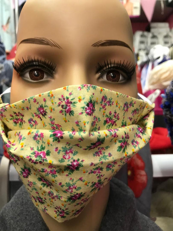 Facemask Handmade In Ambleside with Beautiful Quality Fabrics