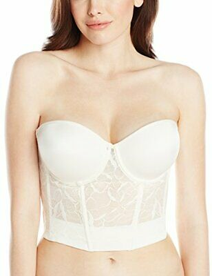 Le Mystere Ivory Strapless Bustier 32C 34D RRP£100