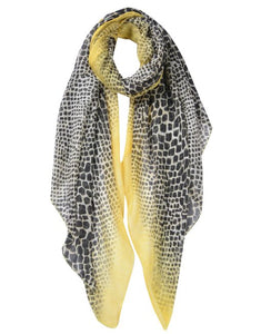 Pretty Snake Pattern Print Scarf Ideal for a gift