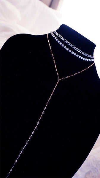 THE FAIREST Y-CHAIN LARIAT NECKLACE