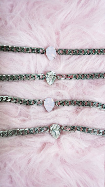 "NEW! ""BASIC WITCH"" Swarovski Crystal Chokers + Bracelets"