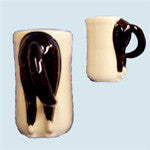 Horse's Butt Mug - Black rear - EquineGiftBoutique