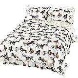 Horses All Over Bedding Set