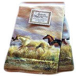 Kitchen Towel with the Famous Band of Thunder Print - EquineGiftBoutique