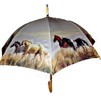 Band of Thunder Umbrella - EquineGiftBoutique