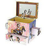 Carousel Musical Treasure Box - EquineGiftBoutique