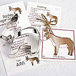 Cookie Cutter for Donkey cookies by Ann Clark