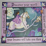 Fold a Way Mirror - Discover Your World Theme - EquineGiftBoutique