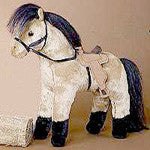 Goldrush Plush Horse from Douglas Cuddle Toy