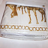 Horses on the Border Sheet set with Bed Skirt