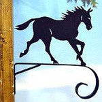 scrolled horse hanger - from North Country Wind Bells of Maine