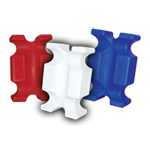 Jump Block set of 2 in White