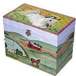 Meadows Musical Treasure Box - EquineGiftBoutique