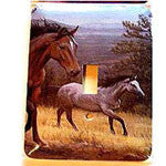 Mountain Horses Light Switch Covers - EquineGiftBoutique