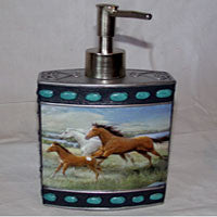 Mountain Horses Bathroom Accessories - EquineGiftBoutique