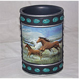 Bathroom Accessories Mountain Horses - EquineGiftBoutique