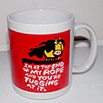 "Mug "" I am at the end of the rope..."" - EquineGiftBoutique"