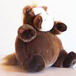 Life is Good Plump Plush Pony - EquineGiftBoutique