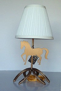 Prancing Pony Lamp with Shade - EquineGiftBoutique